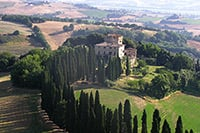 Castello Tancredi - villas in Buonconvento to rent