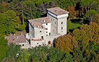 Castello dei Bonaparte - holiday villas in Gubbio
