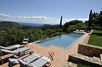Le due Sughere - villas in Porto Ercole to rent