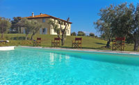 Villa il Meluccio - Castellina Marittima villa rentals
