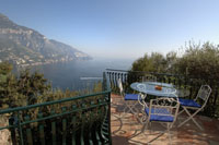 Zeus - villas in Positano to rent